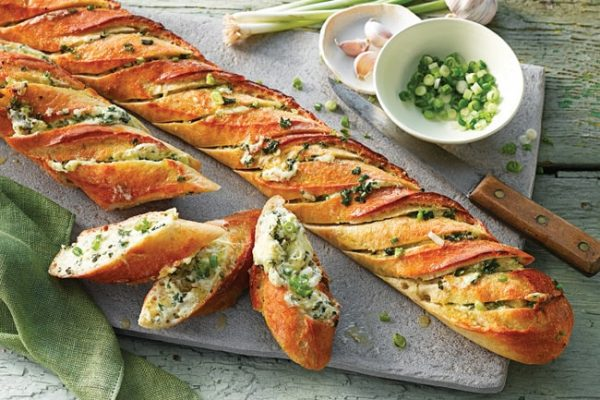 Garlic-Shallot-Cream-Cheese-Baguette